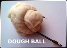 Fish Hooks Hold Dough Ball Bait